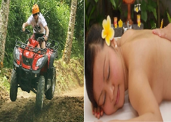 Bali Double Adventure Tour, Bali ATV Ride and Spa Packages