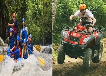 Bali Double Adventure Tour, Ayung Rafting and ATV Ride Tour