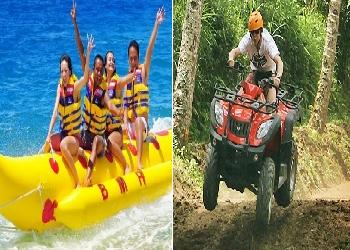 Bali Double Adventure Tour, Water Sport and ATV Ride Adventure Tour