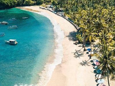 Bali West Nusa Penida Tour, Crystal Bay Beach