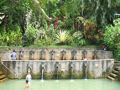 Full Day North Bali Tour, Banjar Hot Spring