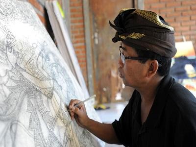 Full Day Kintamani Tour, Batuan Village for Painting Art