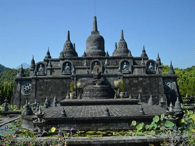 Full Day North Bali Tour, Brahma Vihara Arama