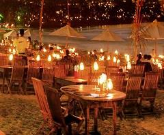 Half Day Uluwatu Tour, Romantic Dinner at Jimbaran Beach