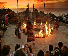 Bali Water Sports and Uluwatu Tour, Kecak and Fire Dance Performance