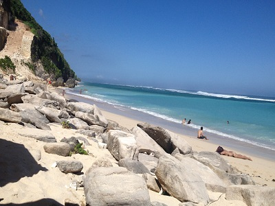 Full Day Uluwatu Tour, Pandawa Beach