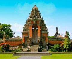 Bali Water Sports and Tanah Lot Tour, Taman Ayun Temple