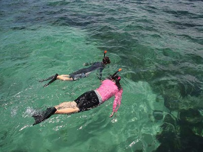 Bali Water Sports Tour, Snorkeling in Bali