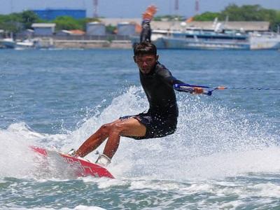 Bali Water Sports Tour, Wake Boarding in Bali