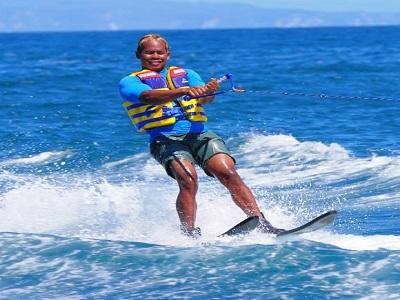 Bali Water Sports Tour, Water Ski in Bali